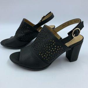 Natualizer Lennie2 6.5 Shoes Heels Slingback Black